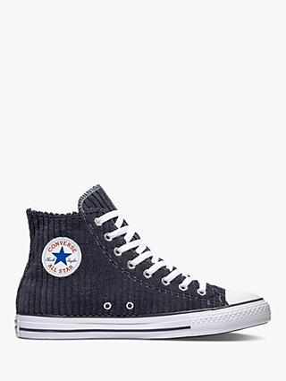 Converse Chuck Taylor Wale Cord Hi-Top Leather Trainers