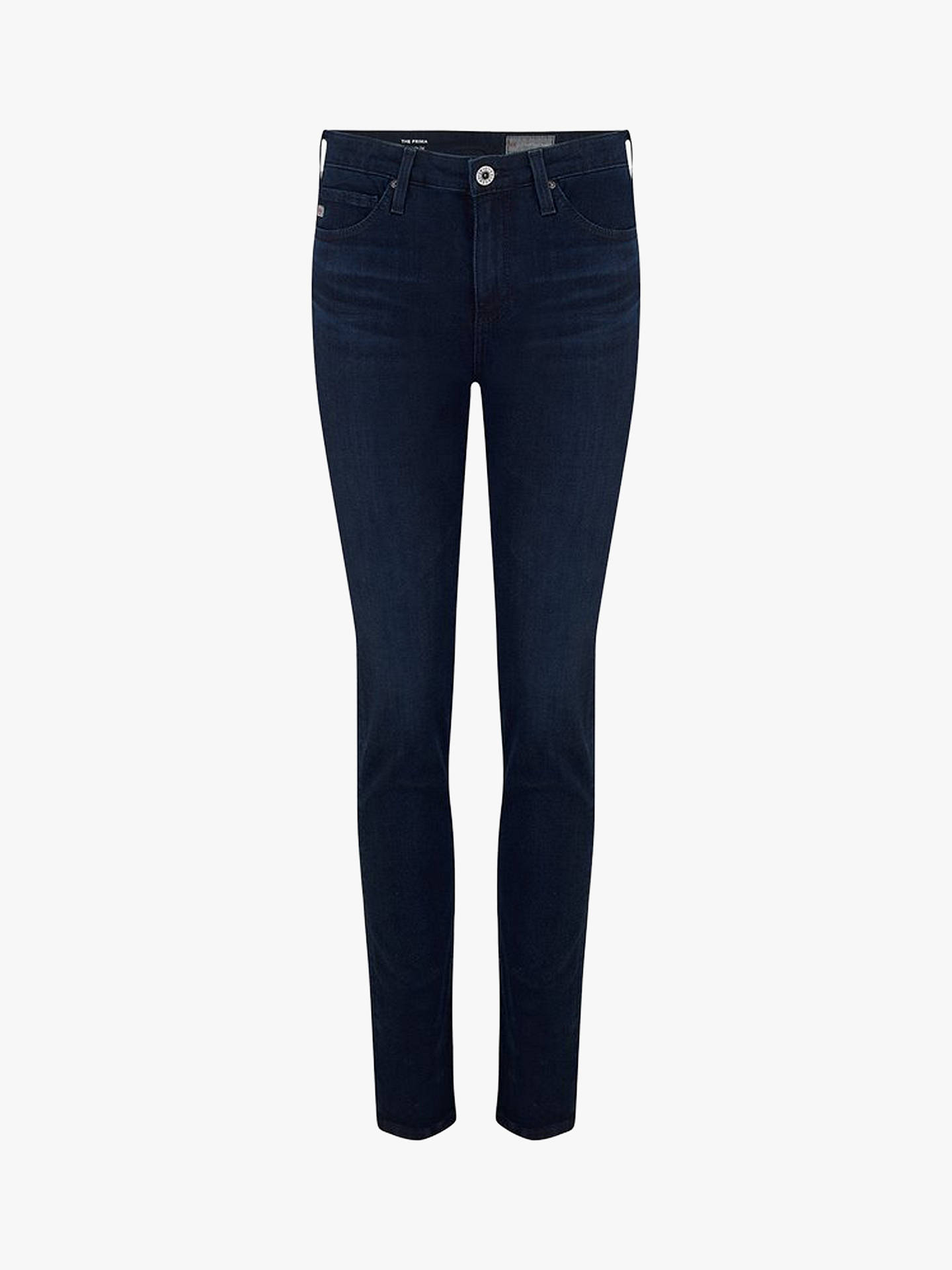 Buy AG The Prima Cigarette Jeans, Indigo Excess, 24 Online at johnlewis.com