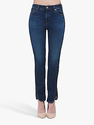 AG The Mari High Rise Slim Straight Leg Jeans, 10 Years Defend
