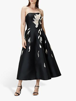 Coast Aubrey Artwork Dress, Mono