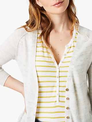 White Stuff Malibu Linen Blend Cardigan