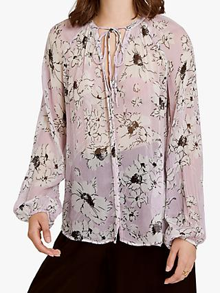 Ghost Mia Top, Lilac