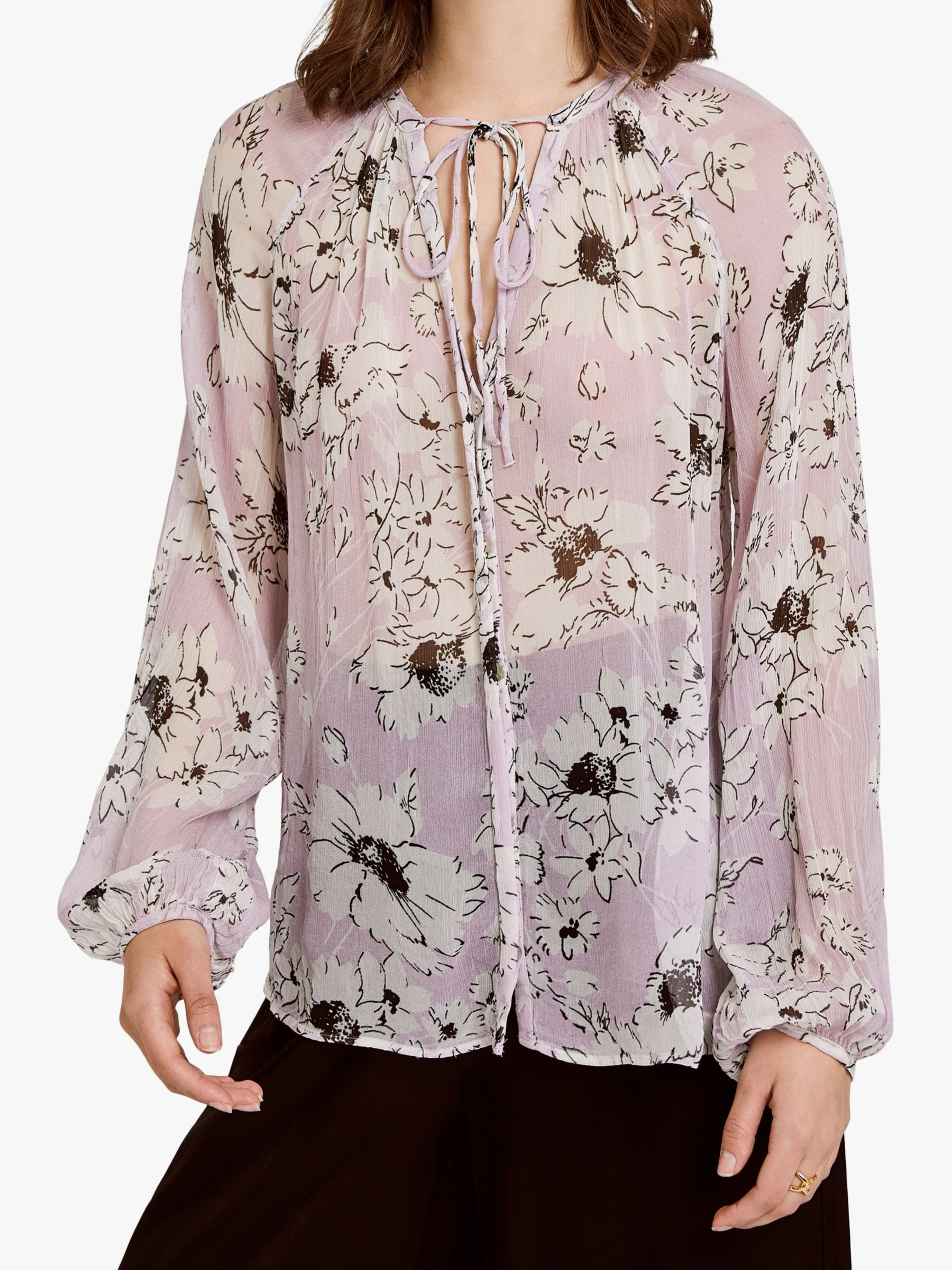 Ghost Ghost Mia Top, Lilac