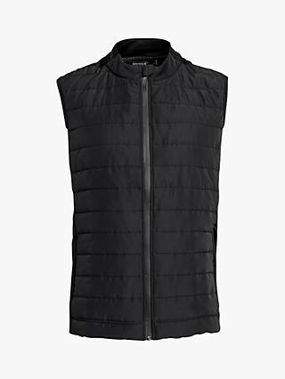 Björn Borg Alexi Quilted Gilet, Black Beauty