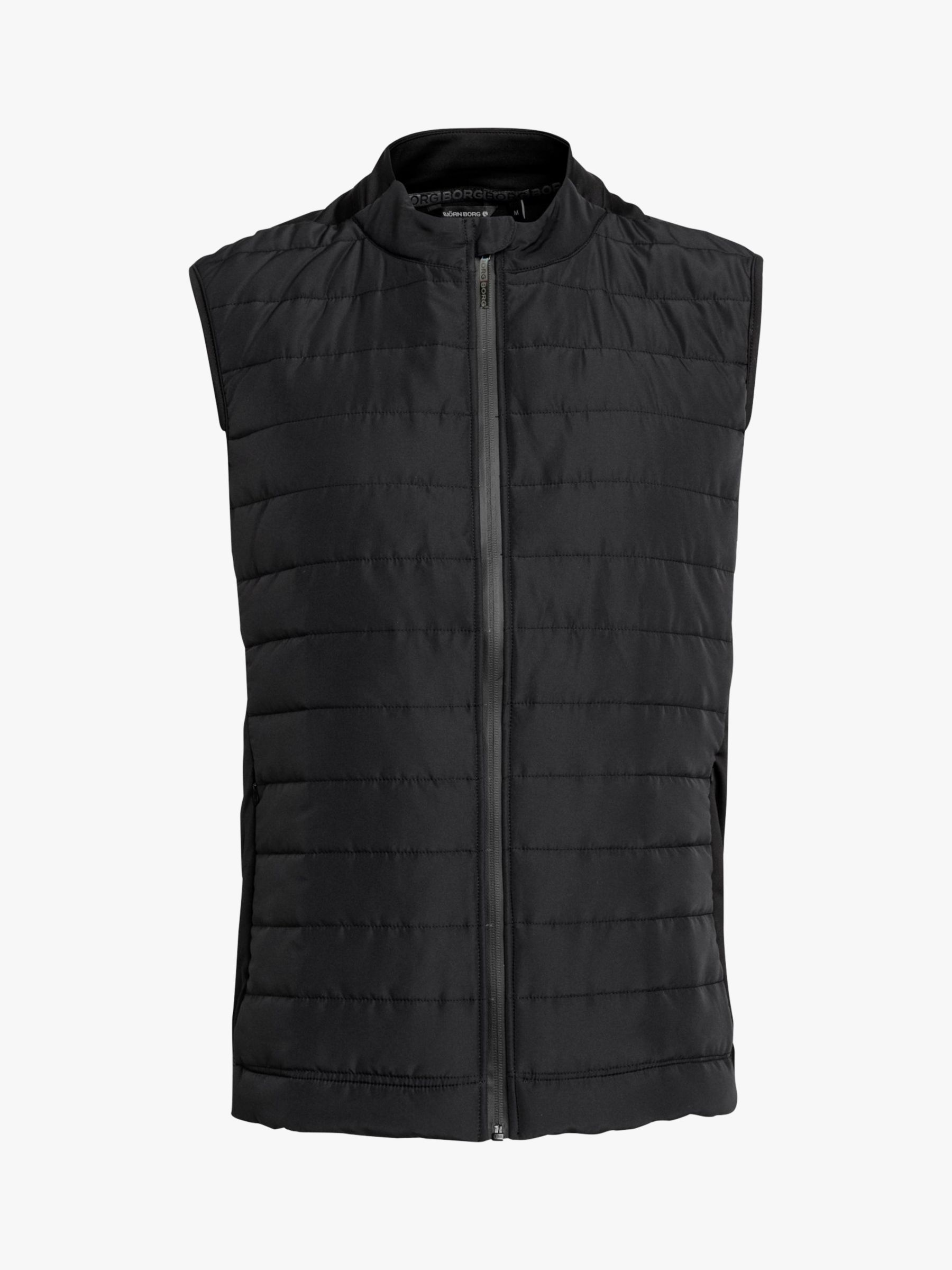 Bjorn Borg Björn Borg Alexi Quilted Gilet, Black Beauty
