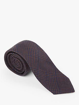 John Lewis & Partners Silk Check Tie
