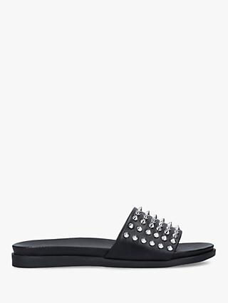 Carvela Kover Leather Studded Sandals