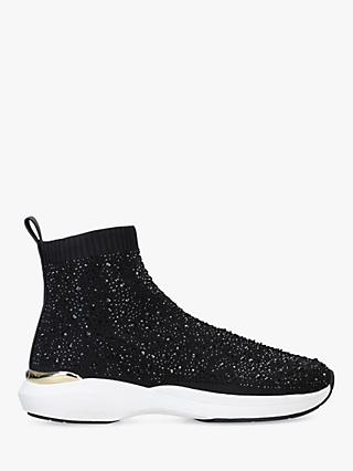 Carvela Jibberish Embellished Sock Trainers
