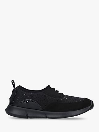 Carvela Comfort Chrissy Trainers, Black