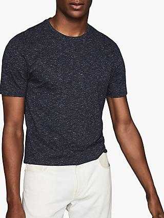 Reiss District Melange Crew Neck T-Shirt