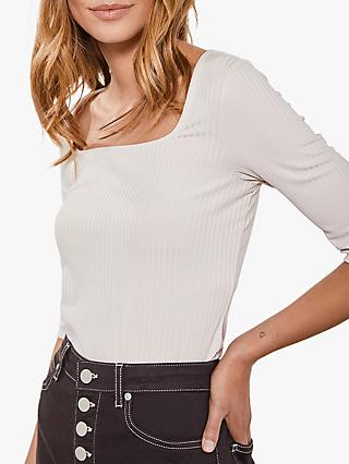 Mint Velvet Square Neck Top