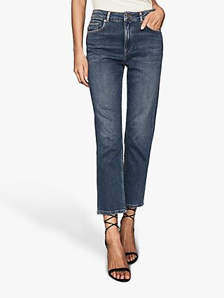 Reiss Bailey Straight Leg Jeans