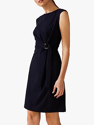 Phase Eight Birdie Side Dress, Navy