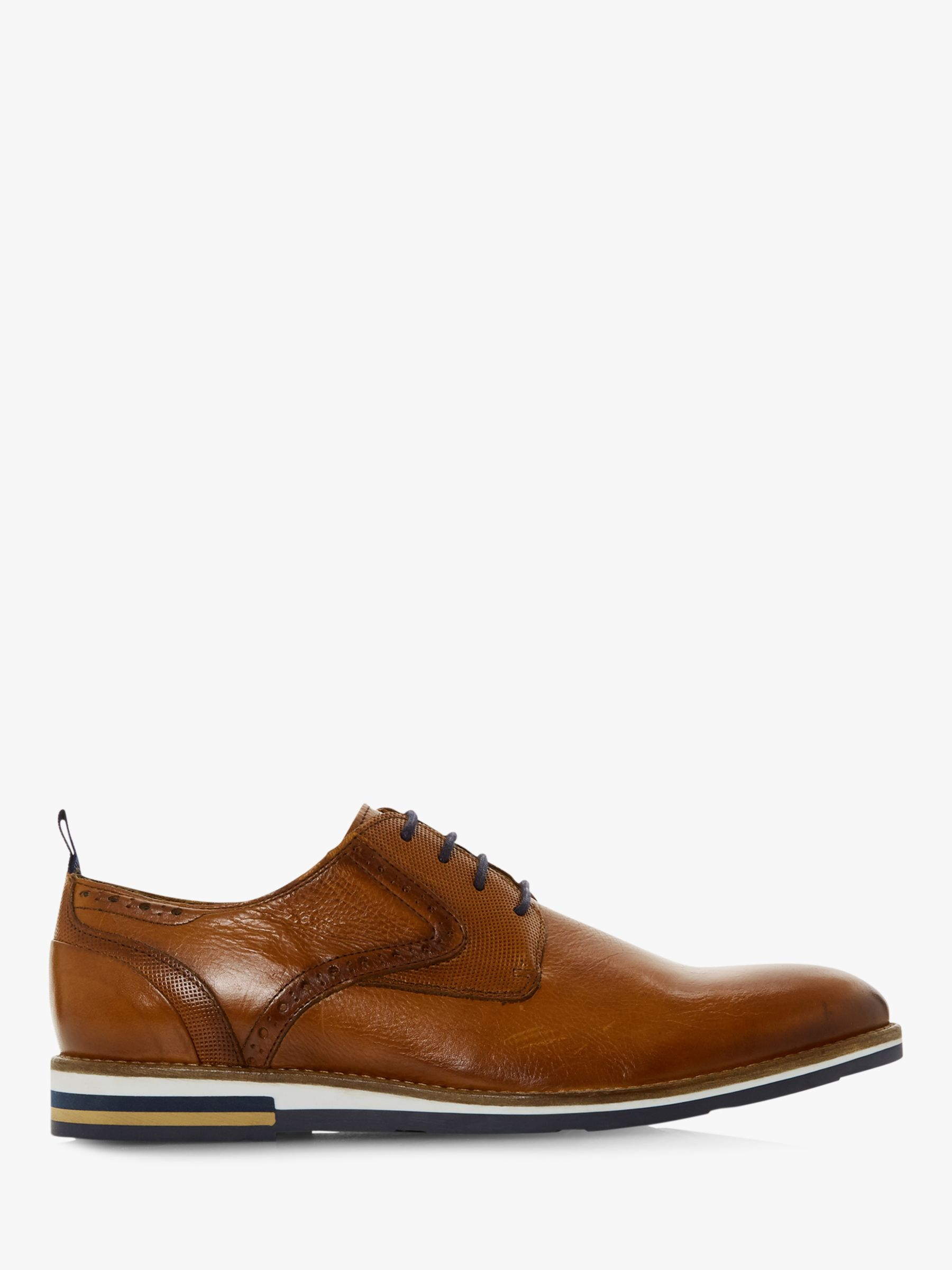 Bertie Bertie Blackfriar Contrast Sole Derby Shoes, Tan