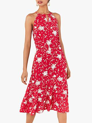 Oasis Amalfi Dress, Red