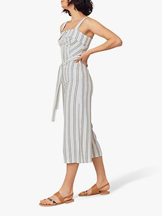 Oasis Stripe Jumpsuit, Natural