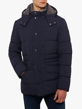 Hackett London Polar Fleece Anorak