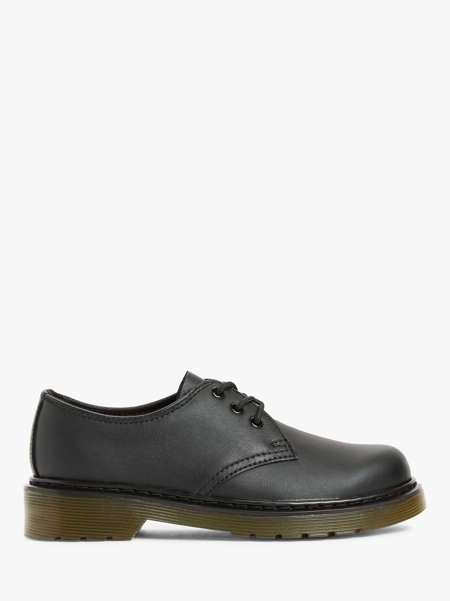 Dr Martens Junior 1461 Softy T Leather Lace Up Shoe Black