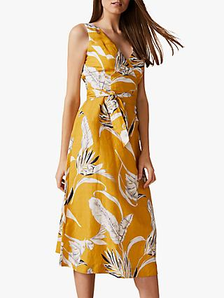 Phase Eight Shaniya Dress, Ochre