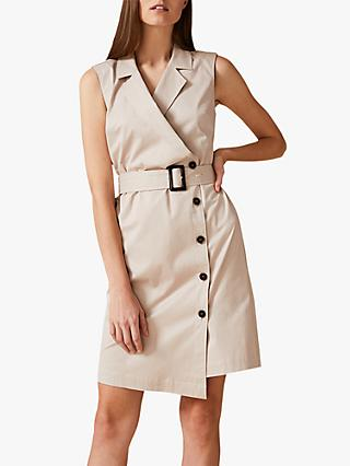 Phase Eight Leighton Dress, Stone