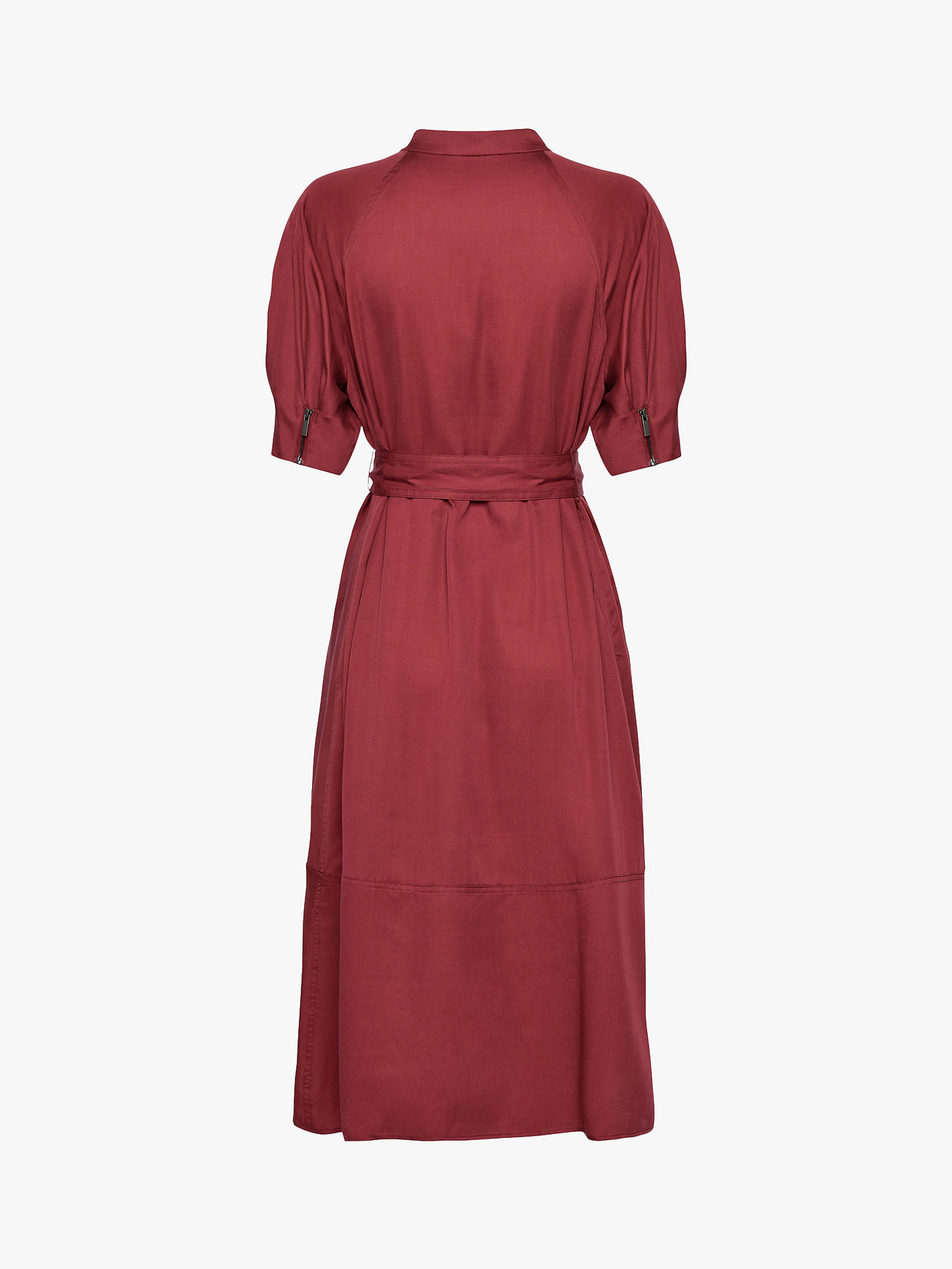Buy French Connection Clarita Shirt Dress, Rhubarb, 16 Online at johnlewis.com
