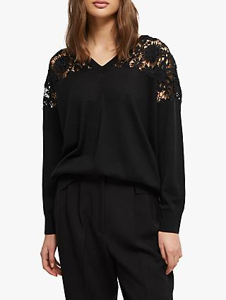 French Connection Ramona Jumper, Black