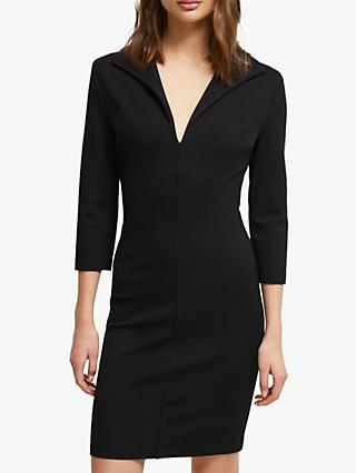 French Connection Ruth Lula V-Neck Dress, Black