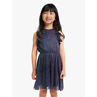 John Lewis & Partners Girls' Sparkle Dress, Multi