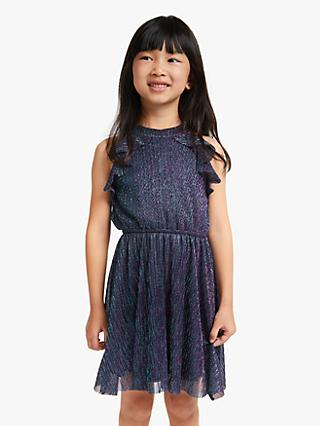 John Lewis & Partners Girls' Sparkle Dress, Multi