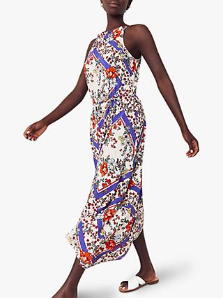 Oasis Floral Hanky Dress, Multi