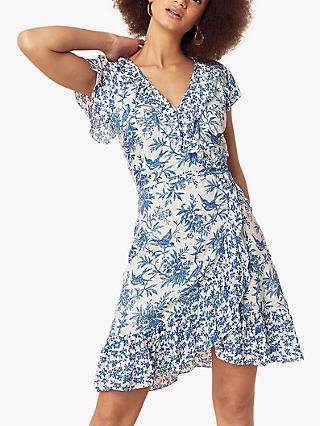 Oasis Patch Print Dress