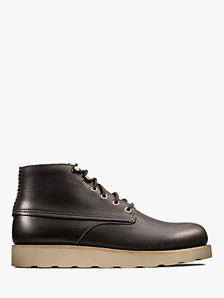 Clarks Trace Quest Leather Boots