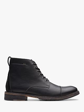 Clarks Clarkdale Hill Leather Boots