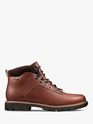 Clarks Batcombe Alp Leather Gore-Tex Boots, Brown