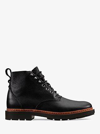 Clarks Trace Explore Leather Boots