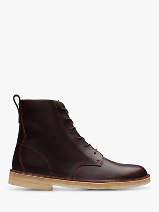Clarks Originals Desert Mali Leather Boots