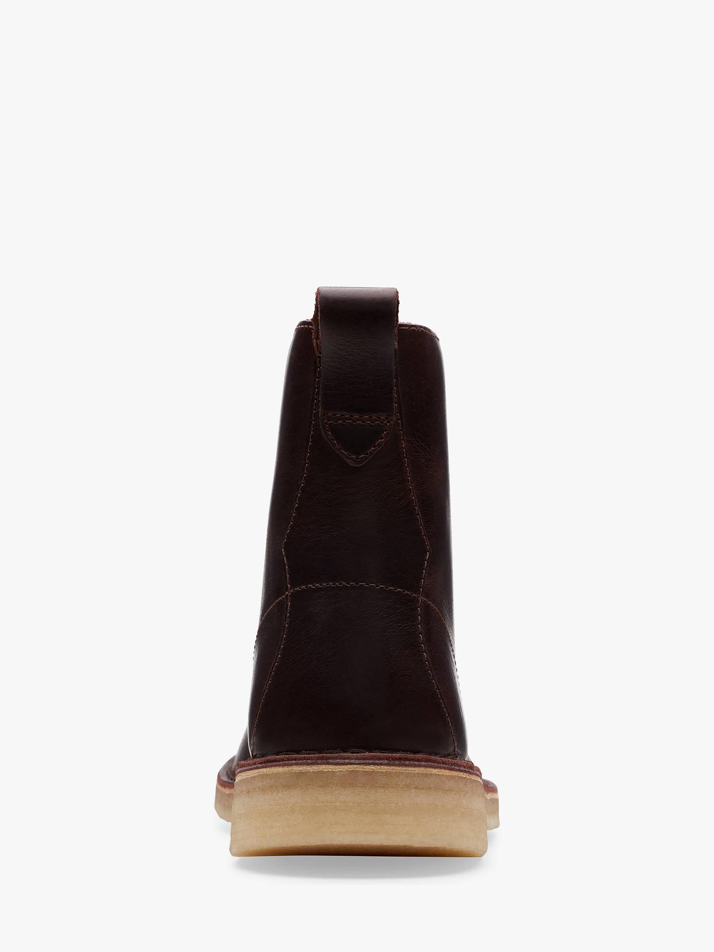 53112e070e2 Clarks Originals Desert Mali Leather Boots at John Lewis & Partners
