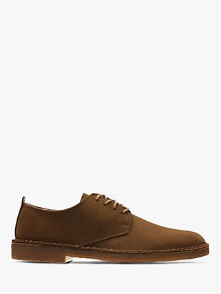 Clarks Originals Desert London Derby Suede Shoes