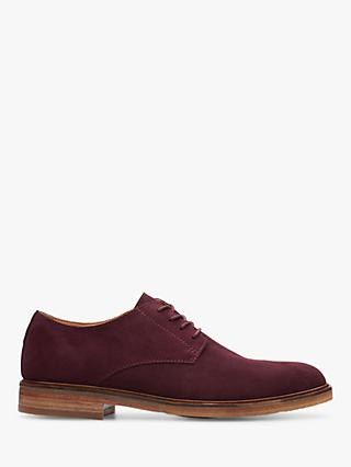 Clarks Clarkdale Moon Suede Derby Shoes