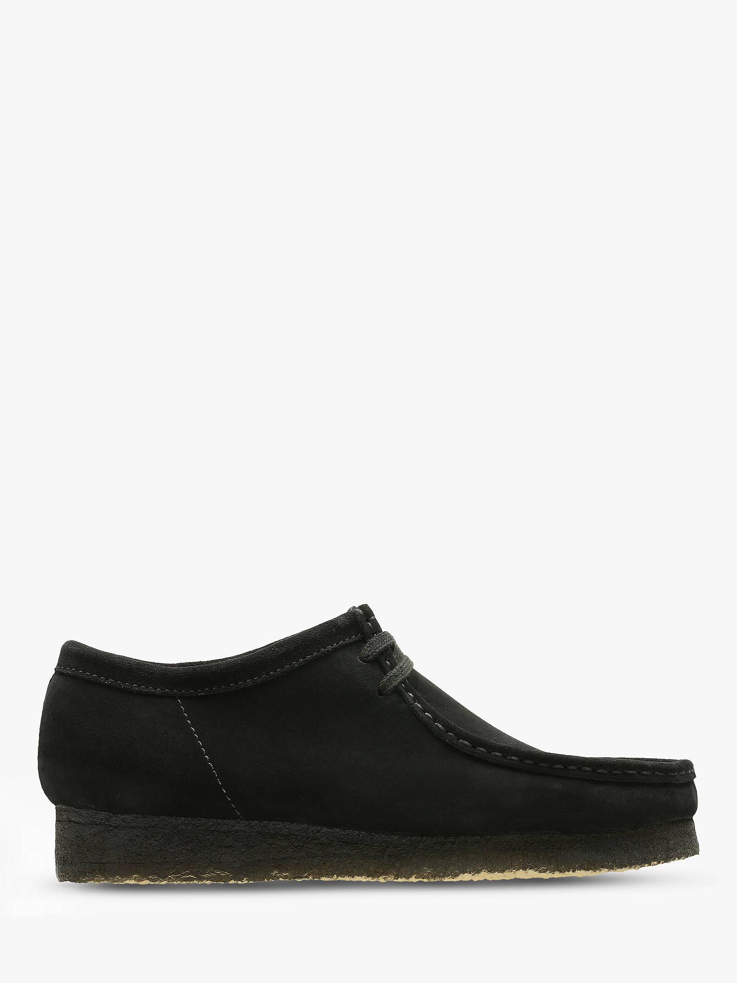 Clarks Originals Suede Wallabee Shoes Black