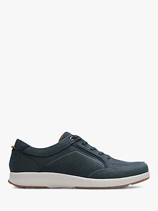 Clarks Un Trail Form Nubuck Shoes, Navy