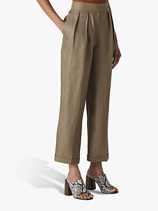 a7bce5ae76 Women's Linen Trousers | Wide Leg | John Lewis & Partners