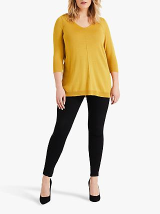 Studio 8 Brea V-Neck Top, Ochre