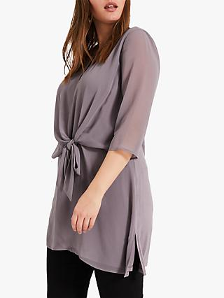 Studio 8 Beatrix Longline Top, Charcoal
