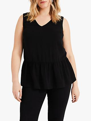 Studio 8 Henrietta Peplum Top, Black
