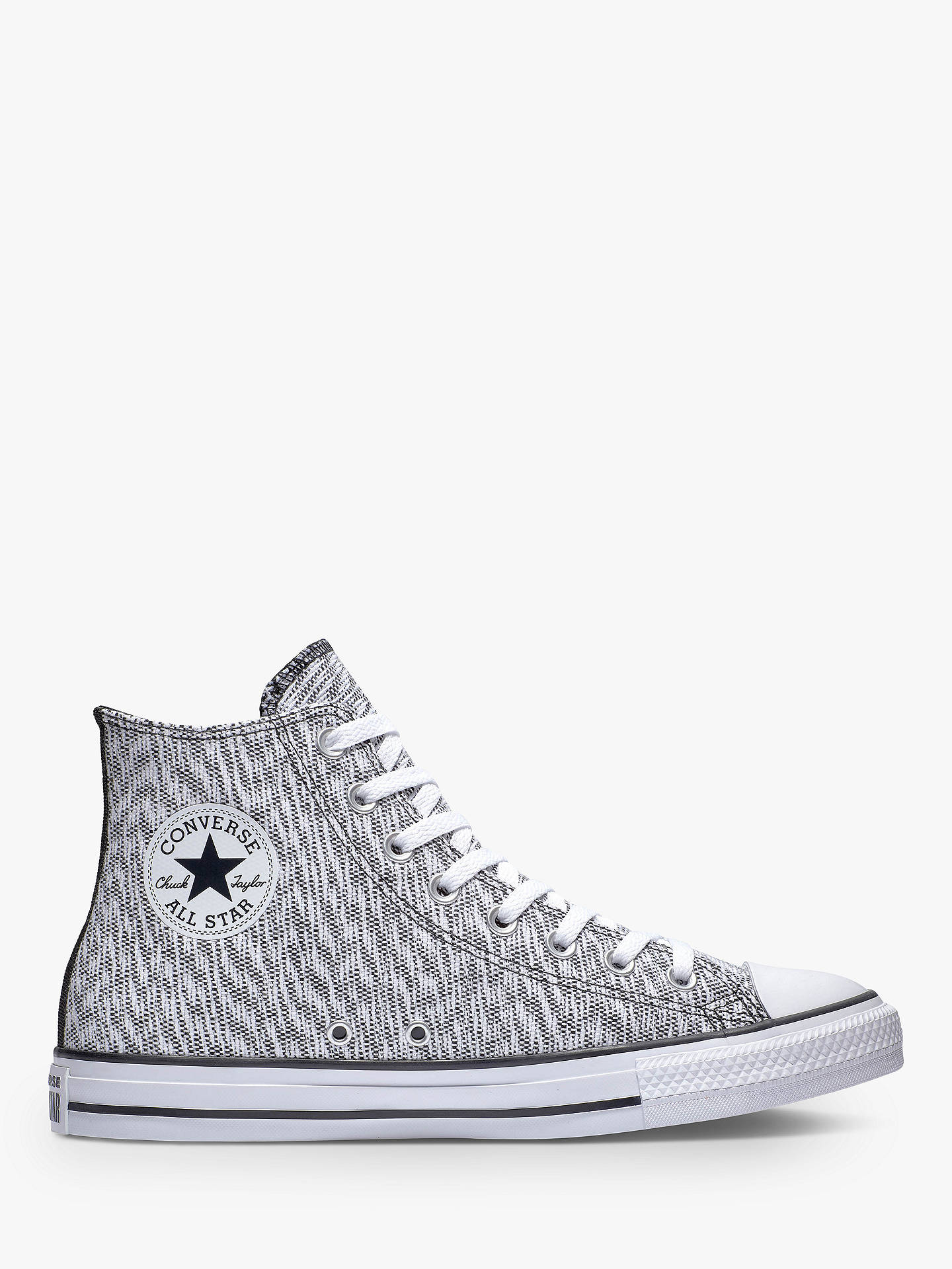 Converse Chuck Taylor All Star High Top Trainers, BlackWhite