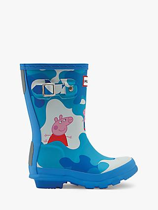 Hunter Children's Peppa Pig Muddy Puddles Wellington Boots