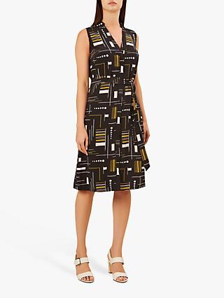Hobbs Cassandra Dress, Black