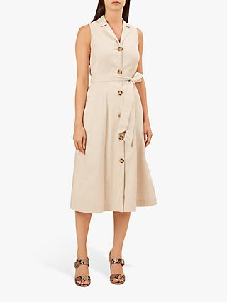 Hobbs Delphina Dress, Stone