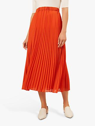 Hobbs Lilita Skirt, Burnt Orange